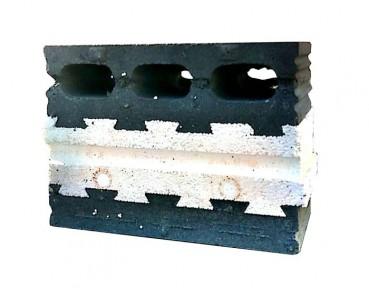 混凝土复合自保温砌块