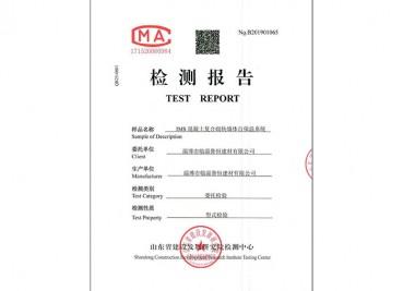 IMS混凝土复合切块墙体自保温系统检测报告 (2)